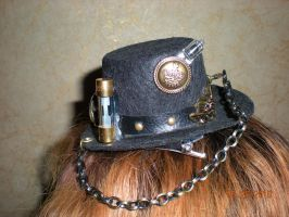 Sideview of Mini Hat by Oriana-X-Myst