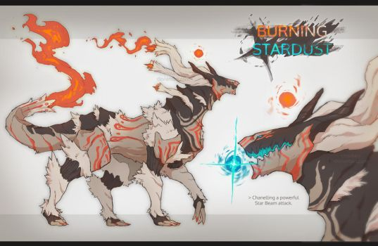[CLOSED] Adopt AUCTION - BURNING STARDUST by Snouken