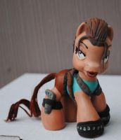 My Little Pony Lara Croft by Tat2ood-Monster