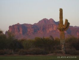 Superstition Mountain by PintabianDreamer1222