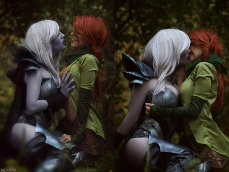 DotA 2 - The Rangers - I thought you'd never ask. by MilliganVick