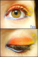 Pokemon Makeup: Paras by Steffmiesterx13