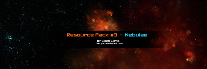 Resource Pack 3 Nebulae by GlennClovis