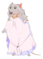 Ratty In Her Dream Lake Gown by Jublenarris
