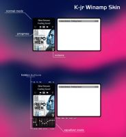 K-jr Winamp Skin by Marisa85