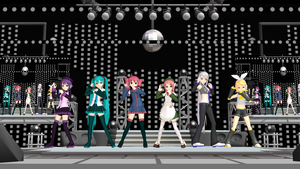 MMD Masisi Love 1000 by GalaxyGuild
