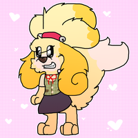 Isabelle by Shinybulbasaur09
