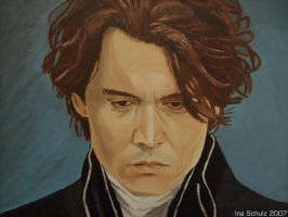 Johnny Depp - Ichabod by shaman-art