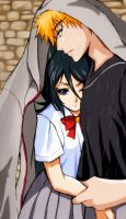 Ichigo x Rukia(request) by Esther-fan-world