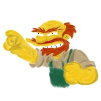 Groundskeeper willie by rev-Jesse-C