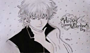 Gintoki - Happy Valentines Day - by darkaslayer