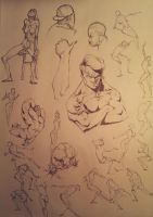 Sketches.. by marvelmania