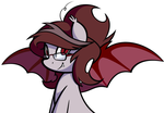 Glasses on a Bat by furrgroup