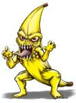 Muscadon, the Banana monster by hawanja