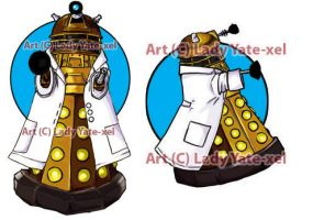 Science Dalek by ladyyatexel