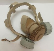 Cardboard Gas Mask by MadMonkey126