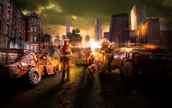 Post Apocalyptic New York City by ConcordART