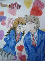 Playful Kiss I by Hayoma