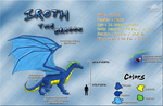 Iroth the Dragon - Ref Sheet by Dragon-Minded