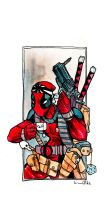 Deadpool and tea by lervold