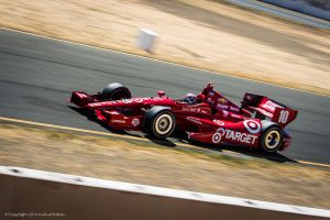 Target Indy Car at Sonoma Raceway by BrittainDesigns