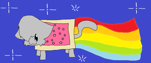 Nyan Cat owo by The-Crazy-Canadian