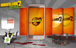 Borderlands 2 Android Wallpaper - Vault by mentalmars