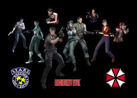 resident evil heroes by taresh