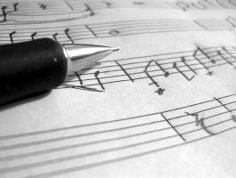 music notes by madphotographer