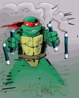 Kevin Eastman - TMNT - colored by rcrex