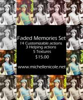 Faded Memories Action set by chupla