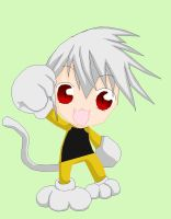 Soul Eater Cat Chibi by Puffypaw