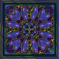 20110110-SE-Deep-Purple-Zoom-Mandala-v19 by quasihedron