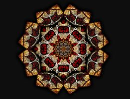 EV Light Mandala II by EvaLightArt