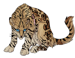 Ocelot by MapleSpyder
