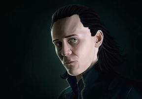 The God of Mischief by Mirudan