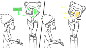 ReBoot OCT Audition WIP 2 by Tigertony10