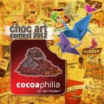 Cocoaphilia Choc Art Contest 2012 - Front by beruangmalaya