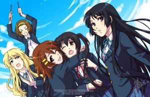 K-ON: Cagayake Girls by YoukaiYume