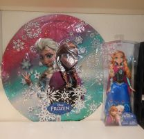 My Frozen Collection  -Closet Wall 4- by kikyo4ever