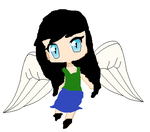 me as a angel  u v u by trulovwithsollux