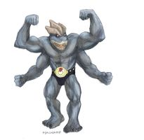 Machamp by RtRadke