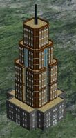 Diplomatic Affairs Building - First Design by AMCAlmaron