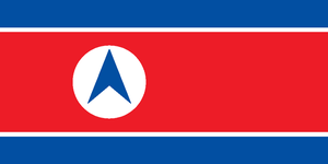 New Flag of North Korea by kyuzoaoi