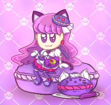 Cat and Sweets by ComicaDreams