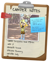 Camp C :: Jacqueline by CherryBuns