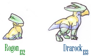 132 and 133 fakedex by Rena-Circa