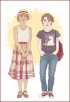Anna and Jesse [commission] by HennaLucas