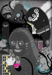 gray monster city by Bobsmade