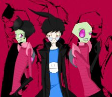 invader zim characters 1 by shikicraig by Z-A-D-R